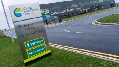 Carlisle Lake District Airport relaunches passenger flights