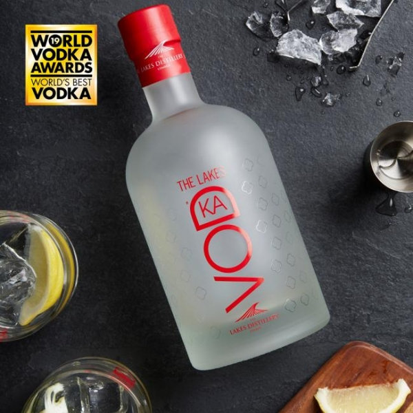 Lakes Distillery vodka named among the best in the world