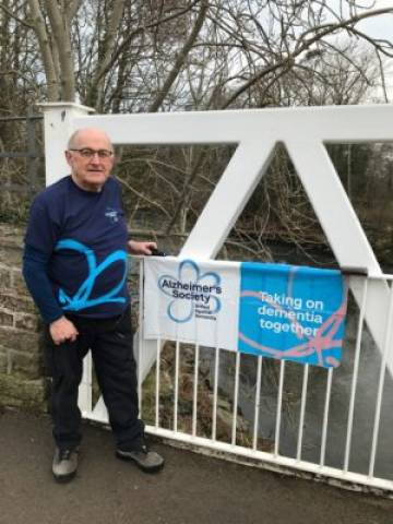 Carlisle man, 72, completes one million steps for Alzheimer's Society
